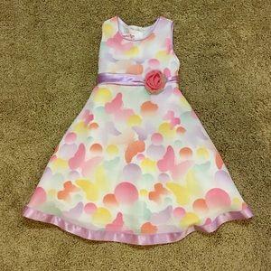 Other - Formal Easter Church Dress 3T Butterflies Dots